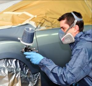 Краскопульт электрический для покраски авто