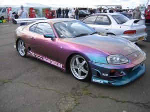 Перламутровая покраска автомобиля