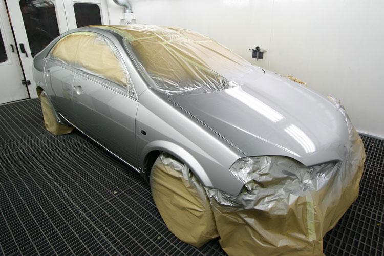 Покраска автомобиля в металлик