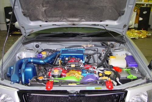 Покраска двигателя