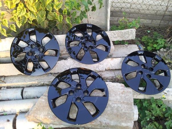 Как покрасить колесные колпаки своими руками 20