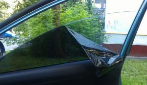 Снятие тонировки с автомобиля