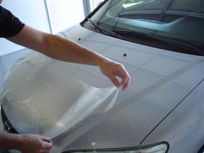 Антигравийная защита кузова автомобиля своими руками