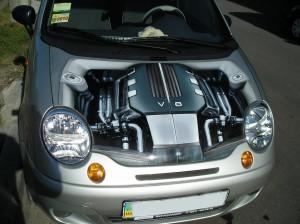 3D рисунки на автомобиле