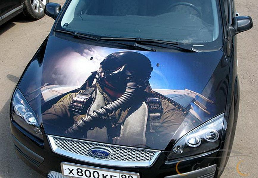 пленки с картинками на авто