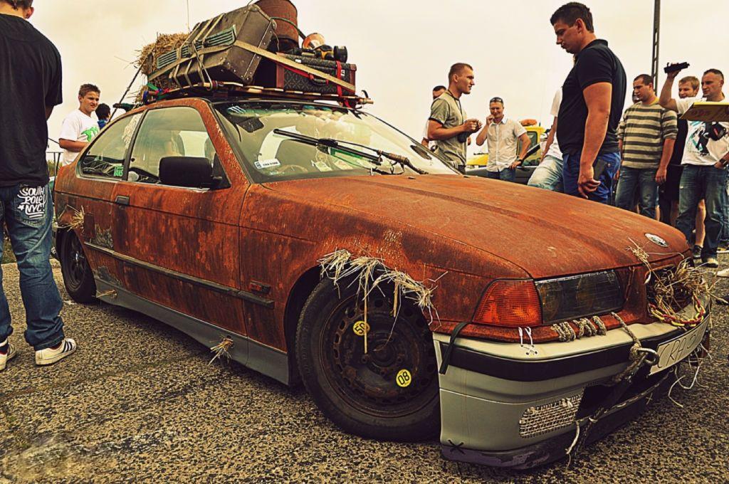Имитация ржавчины на автомобиле