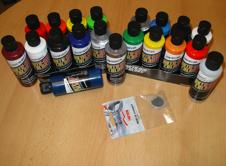 Краски для аэрографии на автомобиле