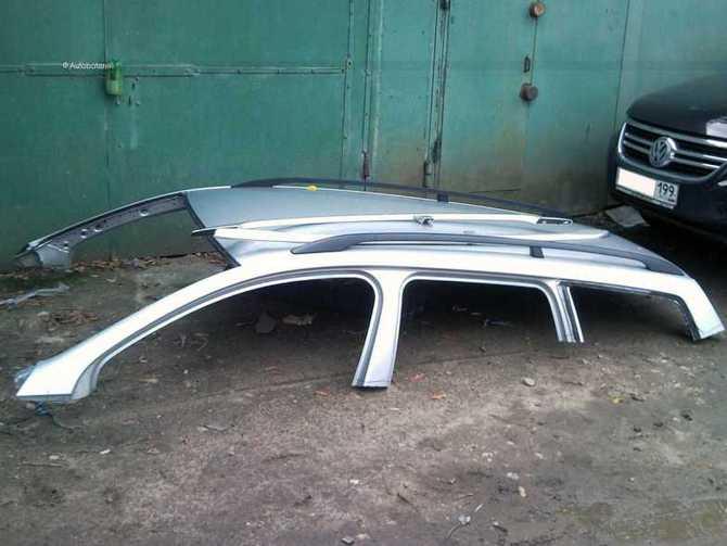 Как заменить крышу автомобиля