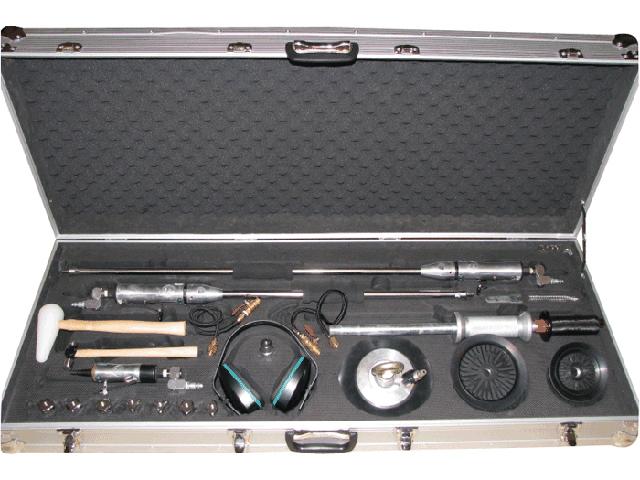 комплект инструментов для устранения вмятин без покраски