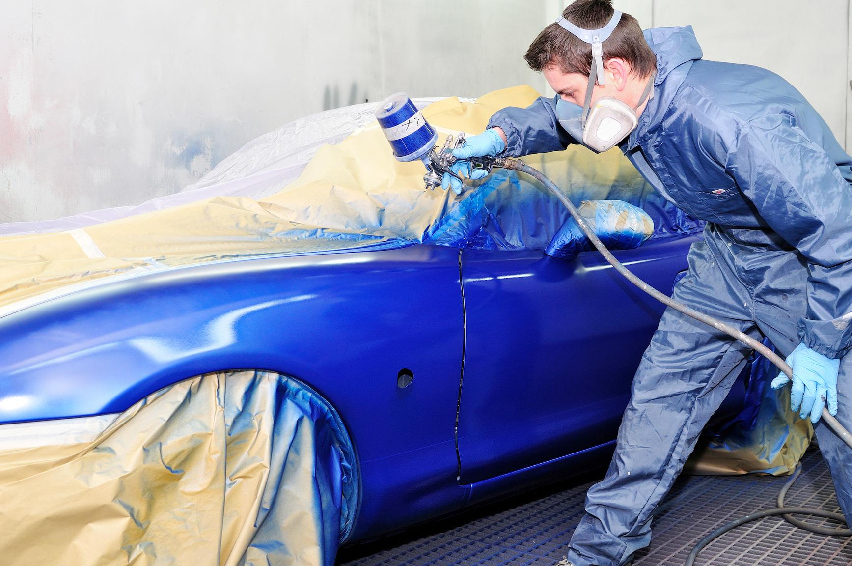 Как подобрать авто краску в домашних условиях