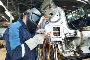 Сварочные работы при кузовном ремонте