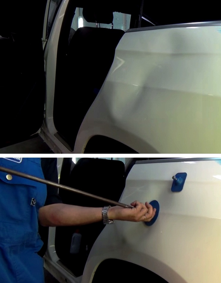 Вакуумная рихтовка кузова авто