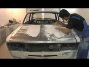 Ваз 2106 ремонт кузова своими руками