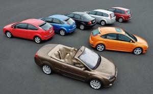 Виды кузовов легковых автомобилей