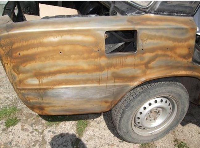 Кузов авто, обработанный средством от коррозии