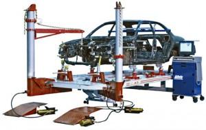 Стапельный станок для восстановления кузова Ваз 2108