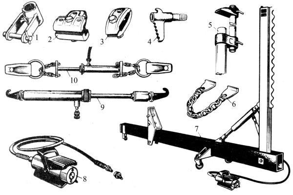 Оснастка для кузовного ремонта