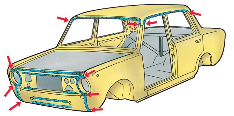 ВАЗ 2101 детали кузова olx