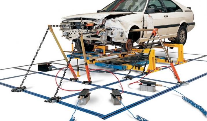 Напольный стапель для кузовного ремонта своими руками 41