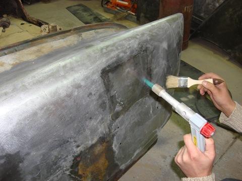 Фото – инструкция по ремонту кузова ваз 2101