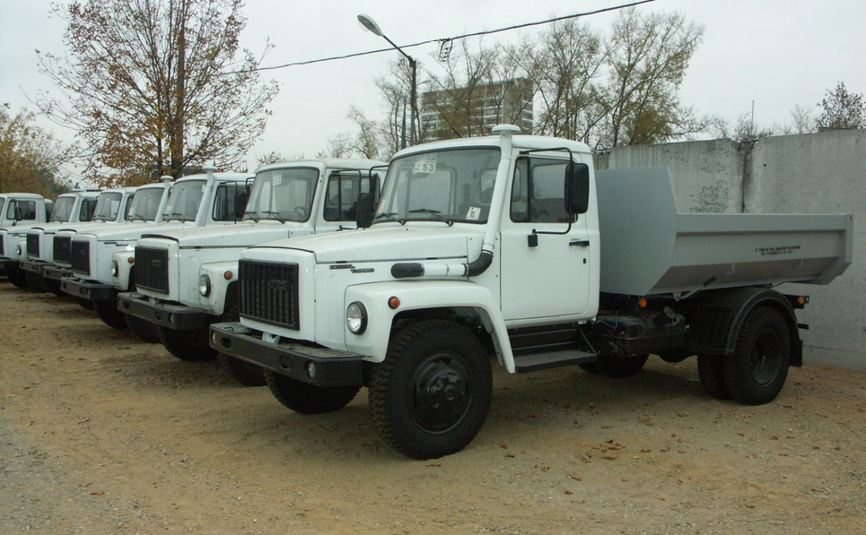 Самосвалы ГАЗ-53