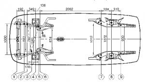 Ваз 2111 геометрия кузова