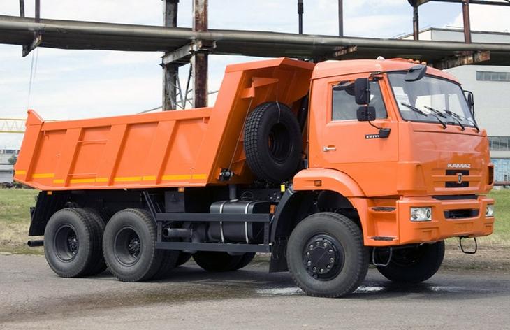 Модель КамАЗа 65111