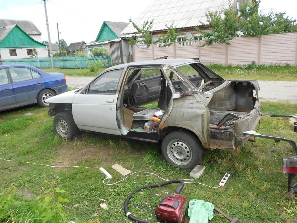 Фото №19 - ВАЗ 2110 ремонт кузова своими руками