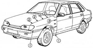 Ваз 2115 кузов