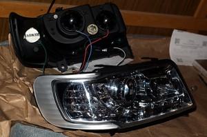 Тюнинг оптика на Audi