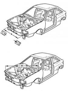 Контрольные размеры купе и полноприводных версий