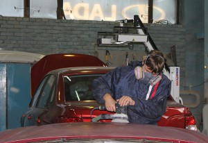 Lada кузовной ремонт
