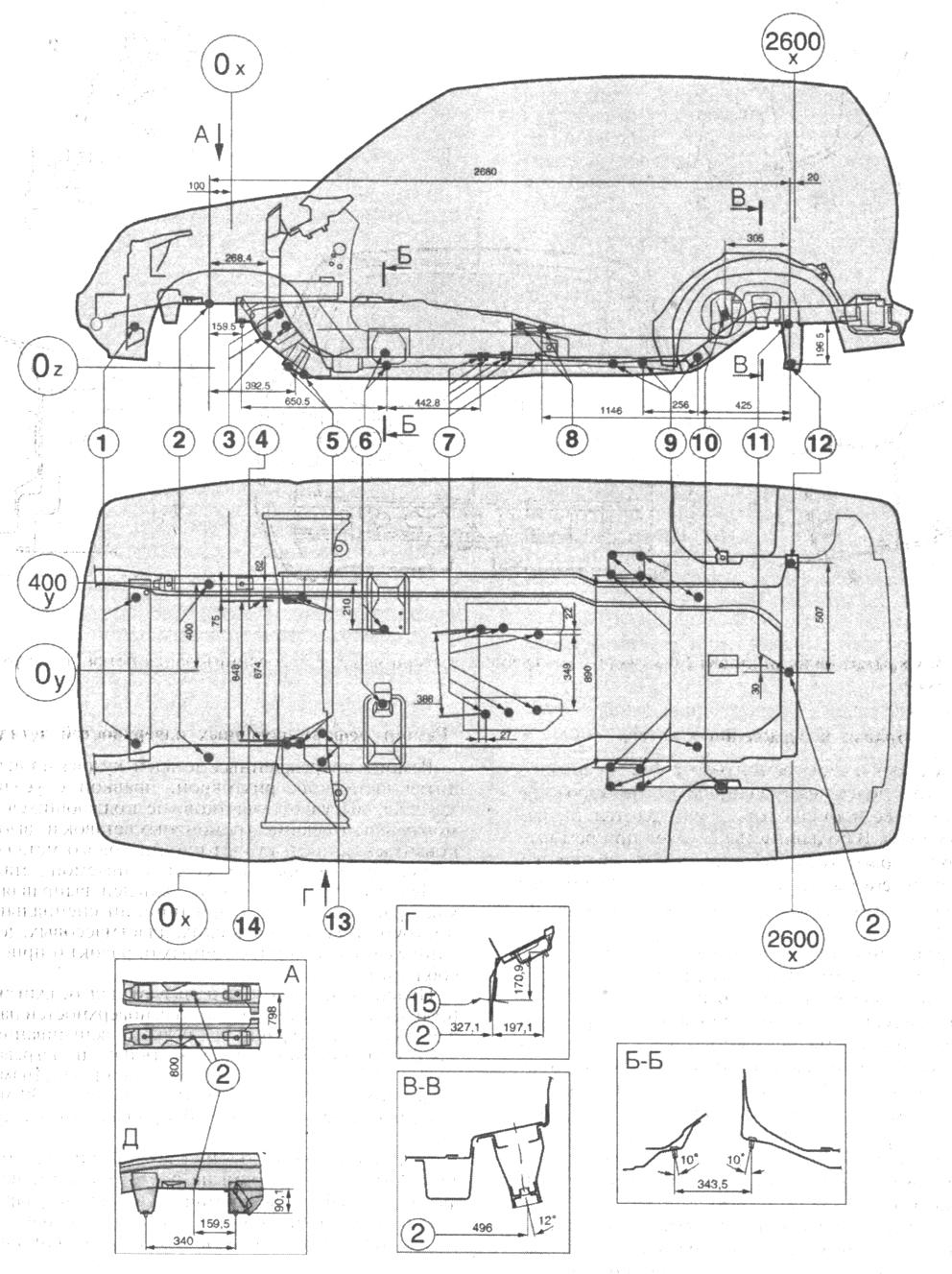 Инструкция: шевроле нива кузовные детали