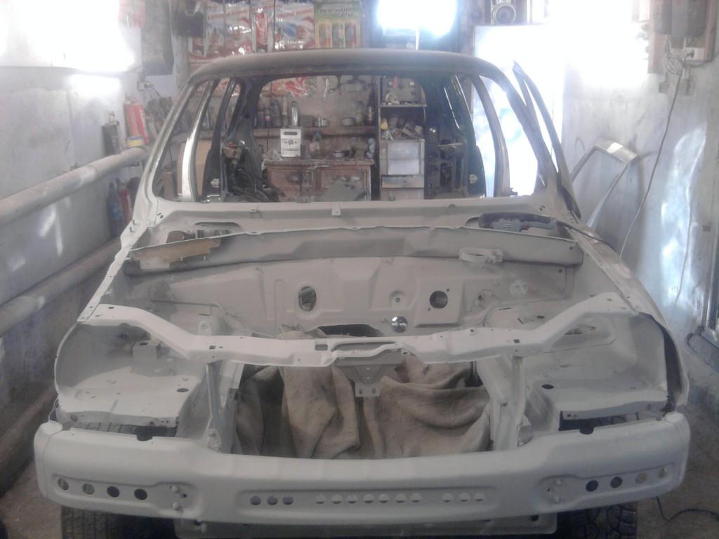 Нива шевроле кузовной ремонт