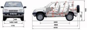 Тип кузова нива шевроле, инструкция «нива шевроле кузов»