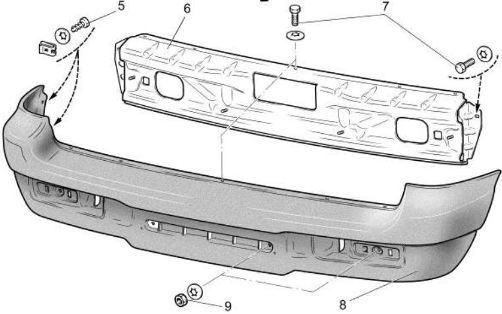 Шевроле нива кузовные детали