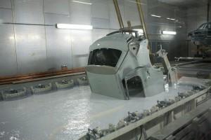 Полная обработка кузова в ванне