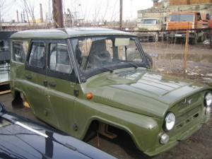 Новый кузов UAZ