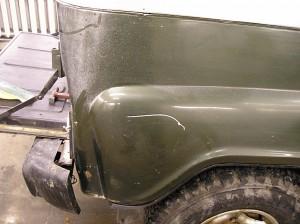Кузовной ремонт UAZ