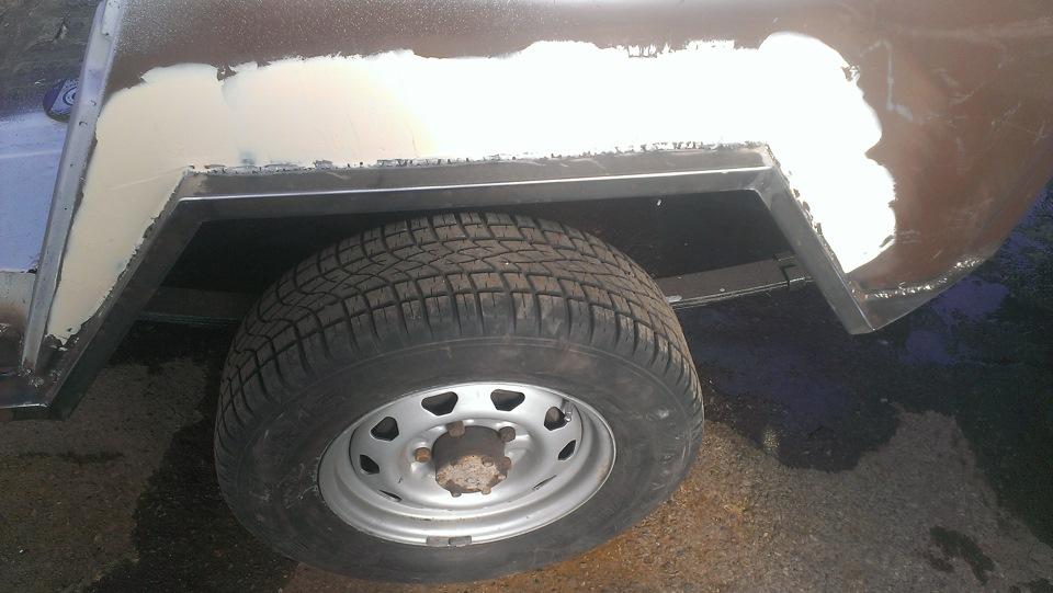 Кузовной ремонт своими руками уаз 469