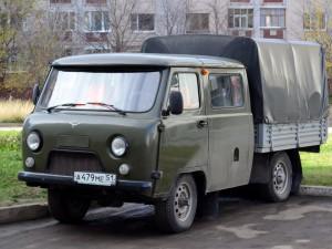 Проходимый сельский грузовичок