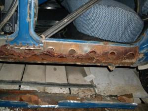 Прогнивший кузов и его ремонт