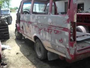Кузовной ремонт запчастей Газели