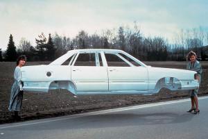 Алюминиевый крылатый кузов