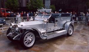 Первое в мире алюминиевое авто
