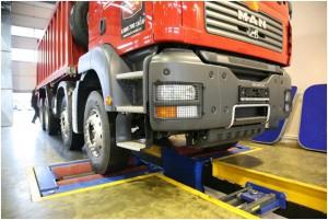Покраска и ремонт грузовой техники