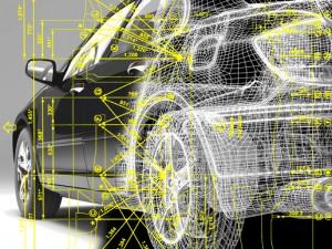 Геометрия и контрольные точки кузова авто