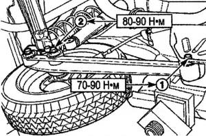 Контрольные размеры и геометрия Матиз