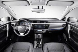 Новая Corolla салон