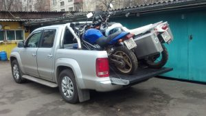 Мотоцикл в Амарок